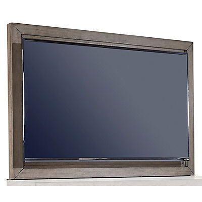 Modern Loft Greystone TV Frame with TV Mount