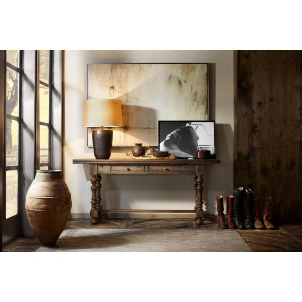 Hill Country Flip-Top Console Table