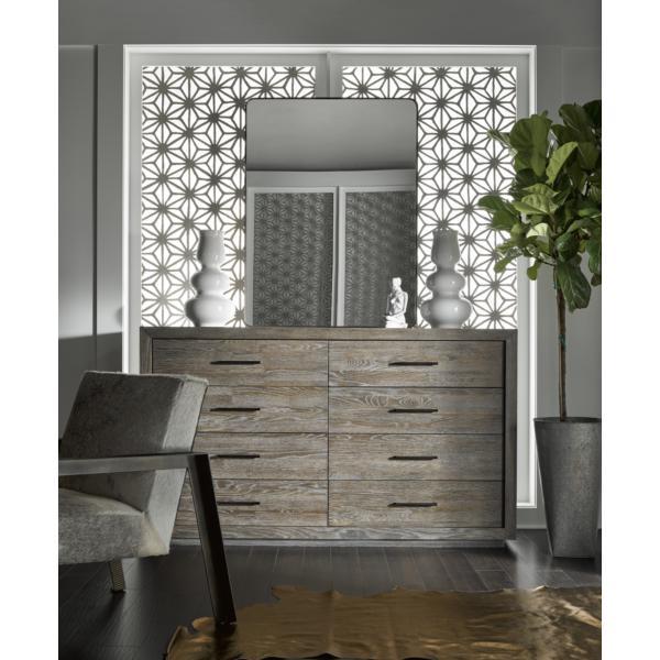 Modern-Charcoal Wilshire Dresser
