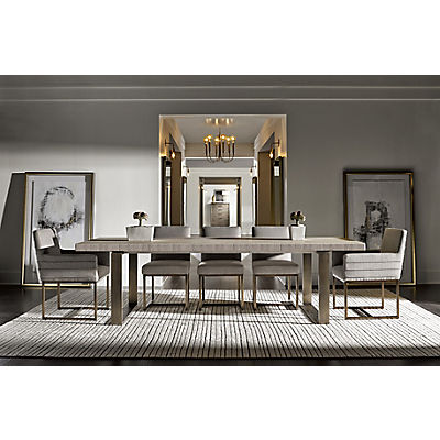 Modern-Quartz Robards Rectangular Dining Table