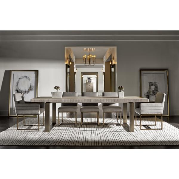 Modern-Quartz Robards Rectangular Dining Table