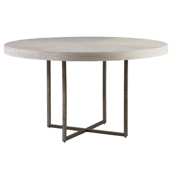 Modern-Quartz Robards Round Dining Table