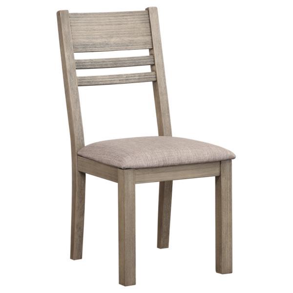 Easton Grey Ladder Back Side Chair