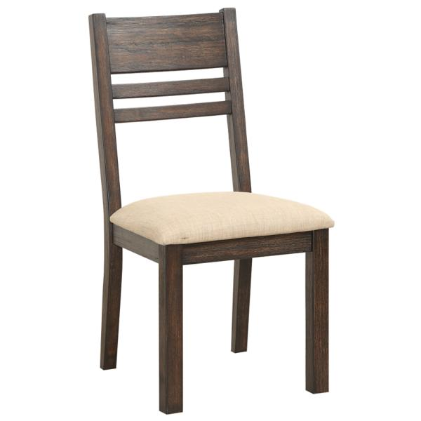 Easton Brown Ladder Back Side Chair