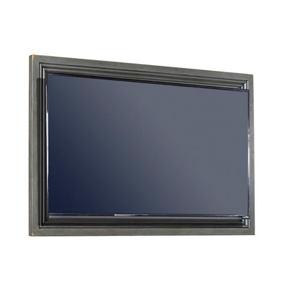 Oxford Peppercorn TV Frame with TV Mount