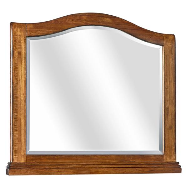 Oxford Arch Mirror - WHISKEY BROWN