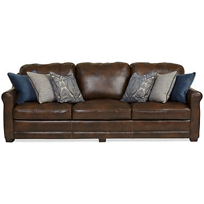 Country Leather Sofa