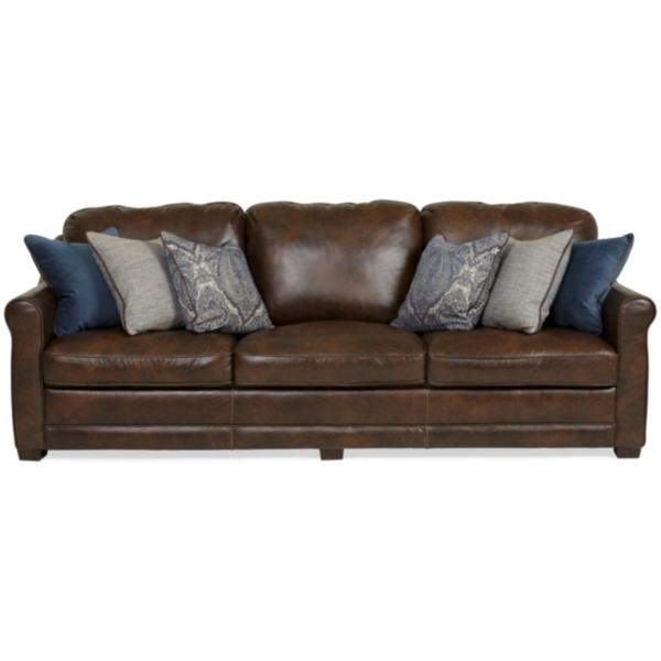 Palermo Hill Country Leather Sofa