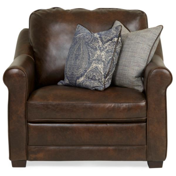 Palermo Hill Country Leather Chair