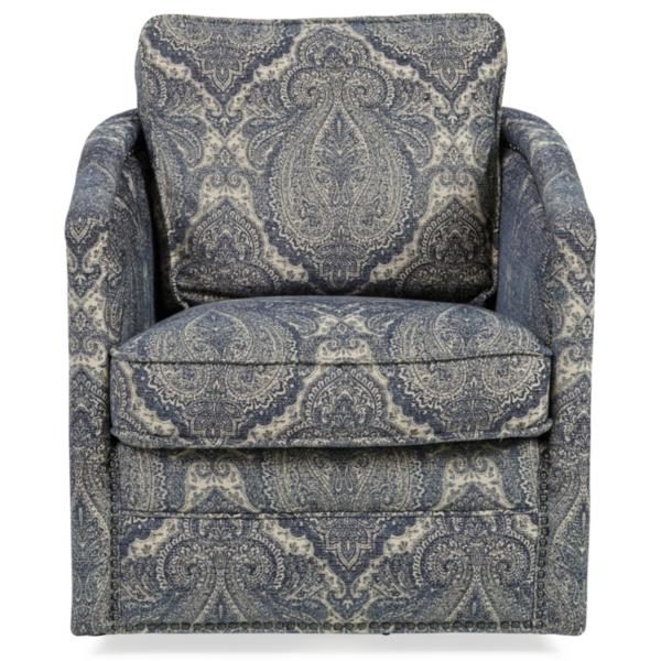 Palermo Hill Country Swivel Accent Chair