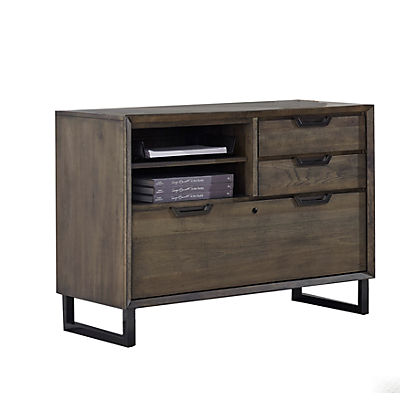 Harper Point Combo File Cabinet - Fossil