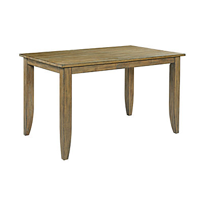 The Nook Oak Counter Height Leg Table