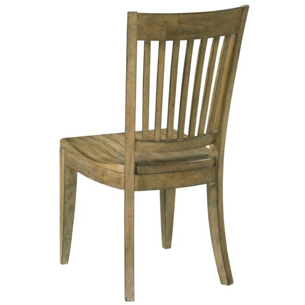 The Nook Oak Wood Seat Side Chair
