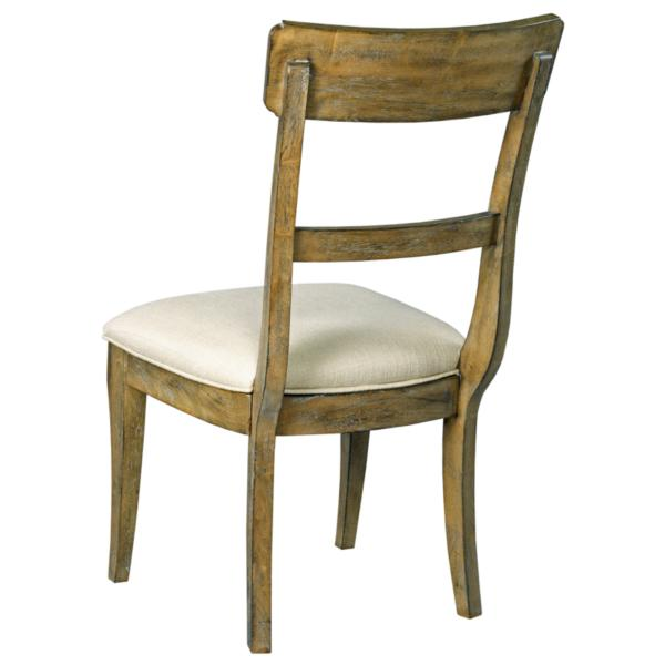 The Nook Upholstered Seat Side Chair - OAK