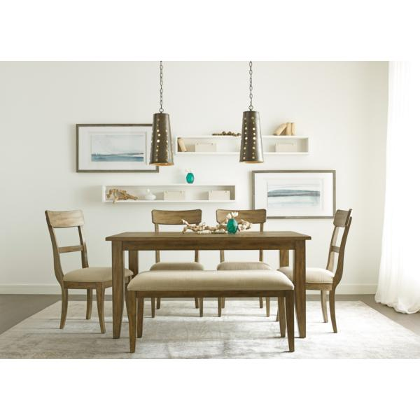 The Nook Oak 60inch Rectangle Table