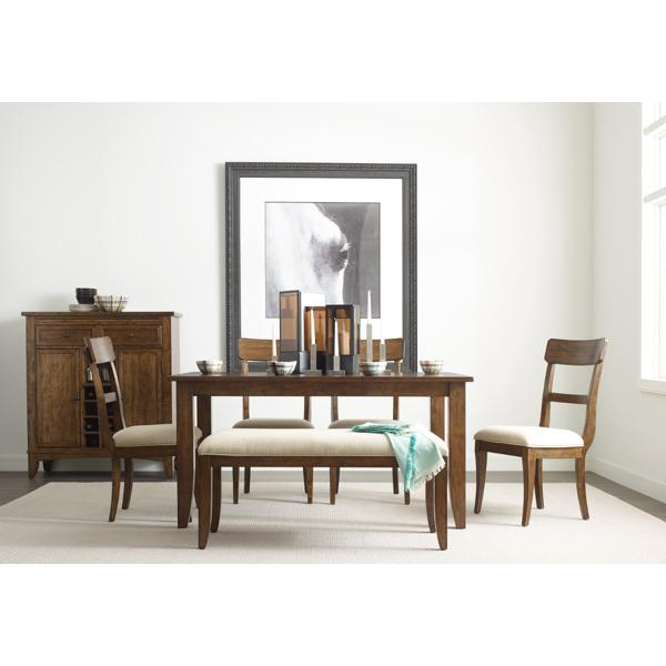 The Nook 60-inch Rectangle Table - MAPLE