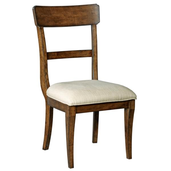 The Nook Maple Upholstered Seat Side Chair