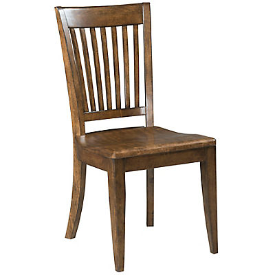 The Nook Maple Wood Seat Side Chair