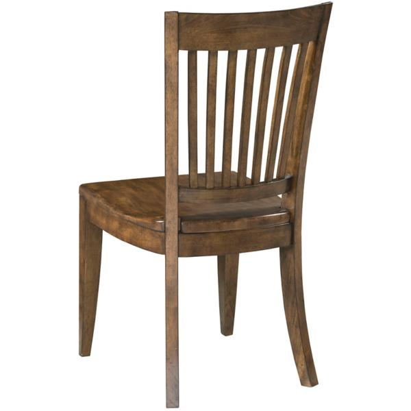 The Nook Wood Seat Side Chair - MAPLE