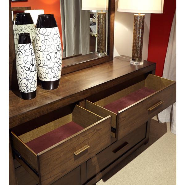 Modern Loft Dresser - BROWNSTONE