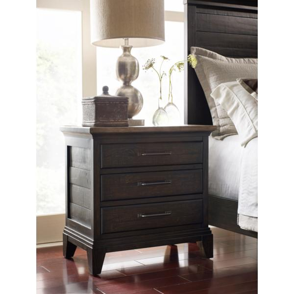 Plank Road Blair Nightstand - CHARCOAL