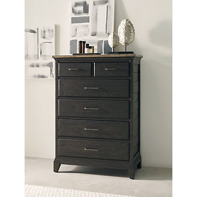 Plank Road Devine Charcoal Drawer Chest