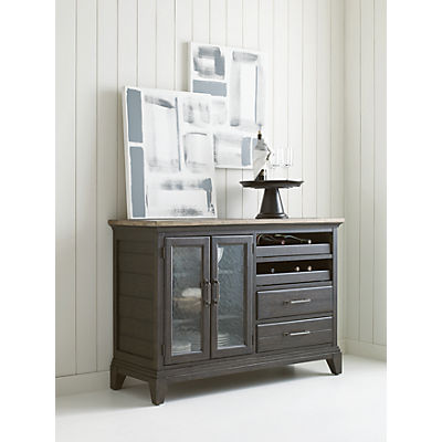 Plank Road Pleasant Hill Wine Server- CHARCOAL