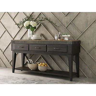 Plank Road Artisan's Charcoal Sideboard
