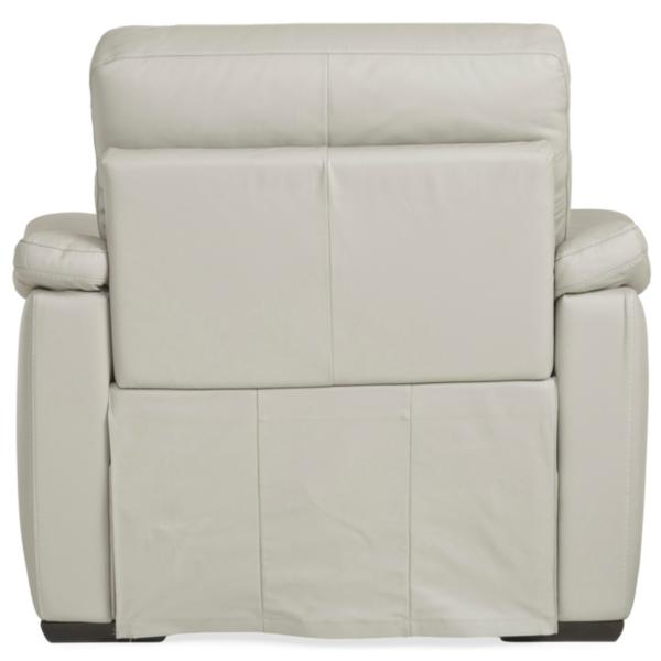Urban Cement Leather Power Recliner