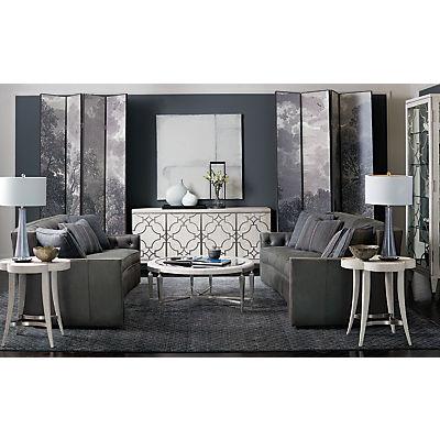 Candace Leather Sofa