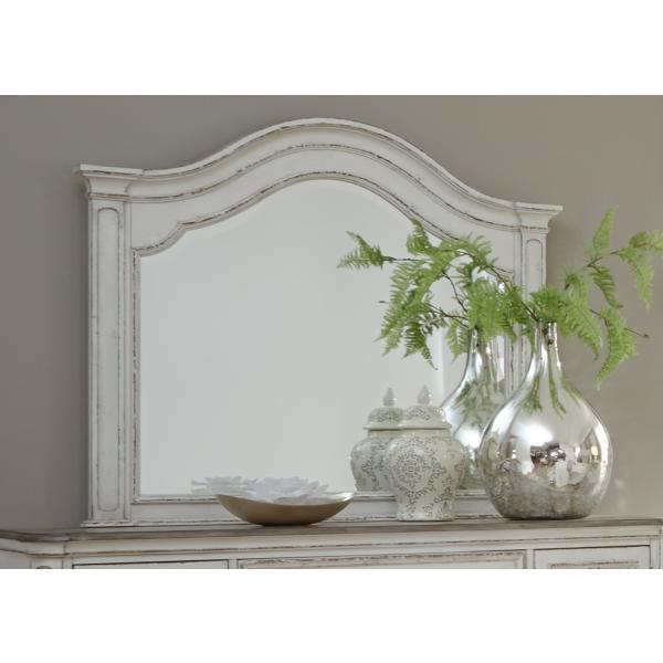Magnolia Manor Arched Mirror