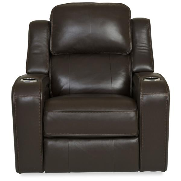 Palermo Leather Power Recliner - CHOCOLATE
