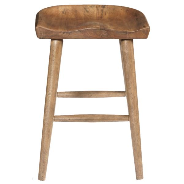 Furniture City Brewing Blonde Hops Saddle Gathering Stool
