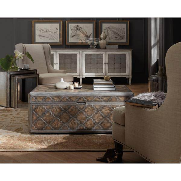 Arabella Mirrored Console Table