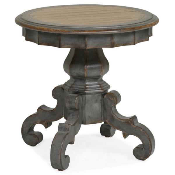 Arabella Pedestal End Table