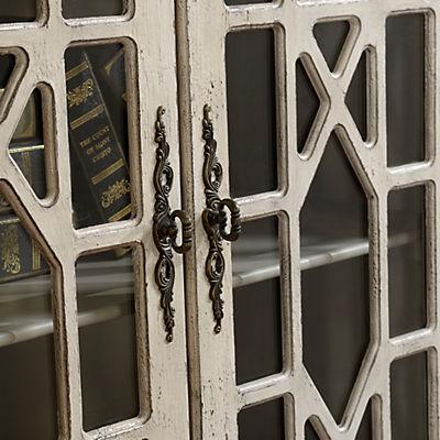 Joplin 2-Door Cabinet, Textured Ivory