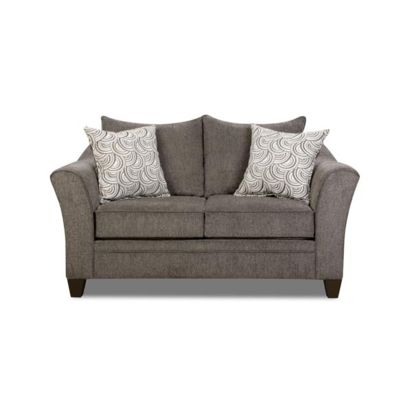 Albany Loveseat - PEWTER