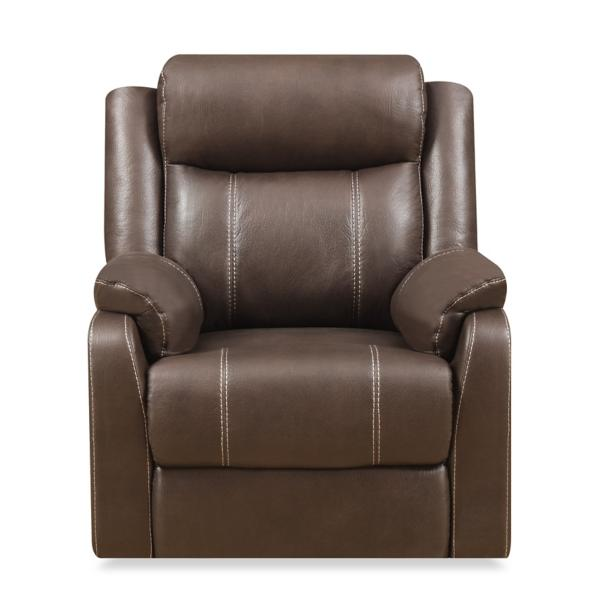 Bingo Glider Recliner - CHOCOLATE
