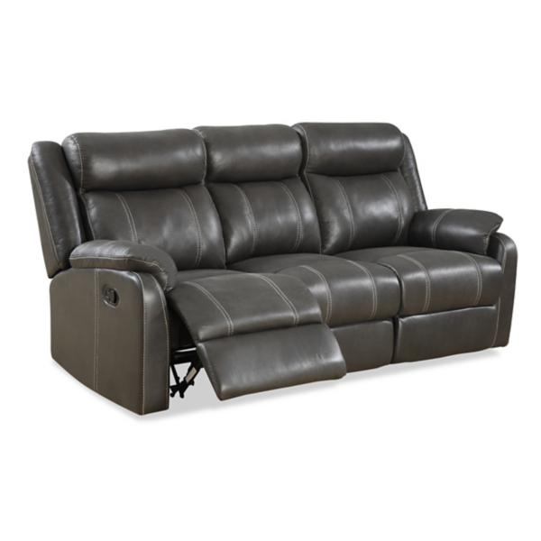 Bingo Reclining Sofa with Drop Down Table - CARBON