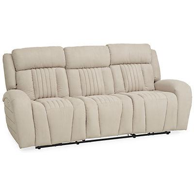 Driver Power Reclining Sofa - IVORY