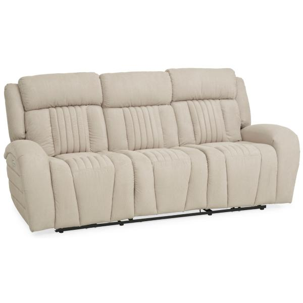 Driver Power Reclining Sofa - IVORY