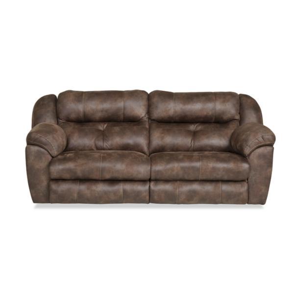 Farley Power Reclining Sofa with Power Headrest - DUSK