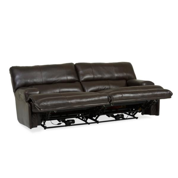 Whiskey Leather Power Reclining Sofa