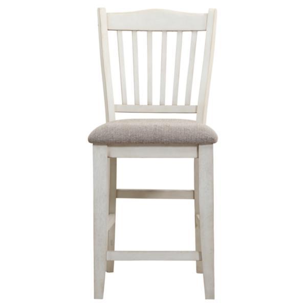 Garth White Counter Chair