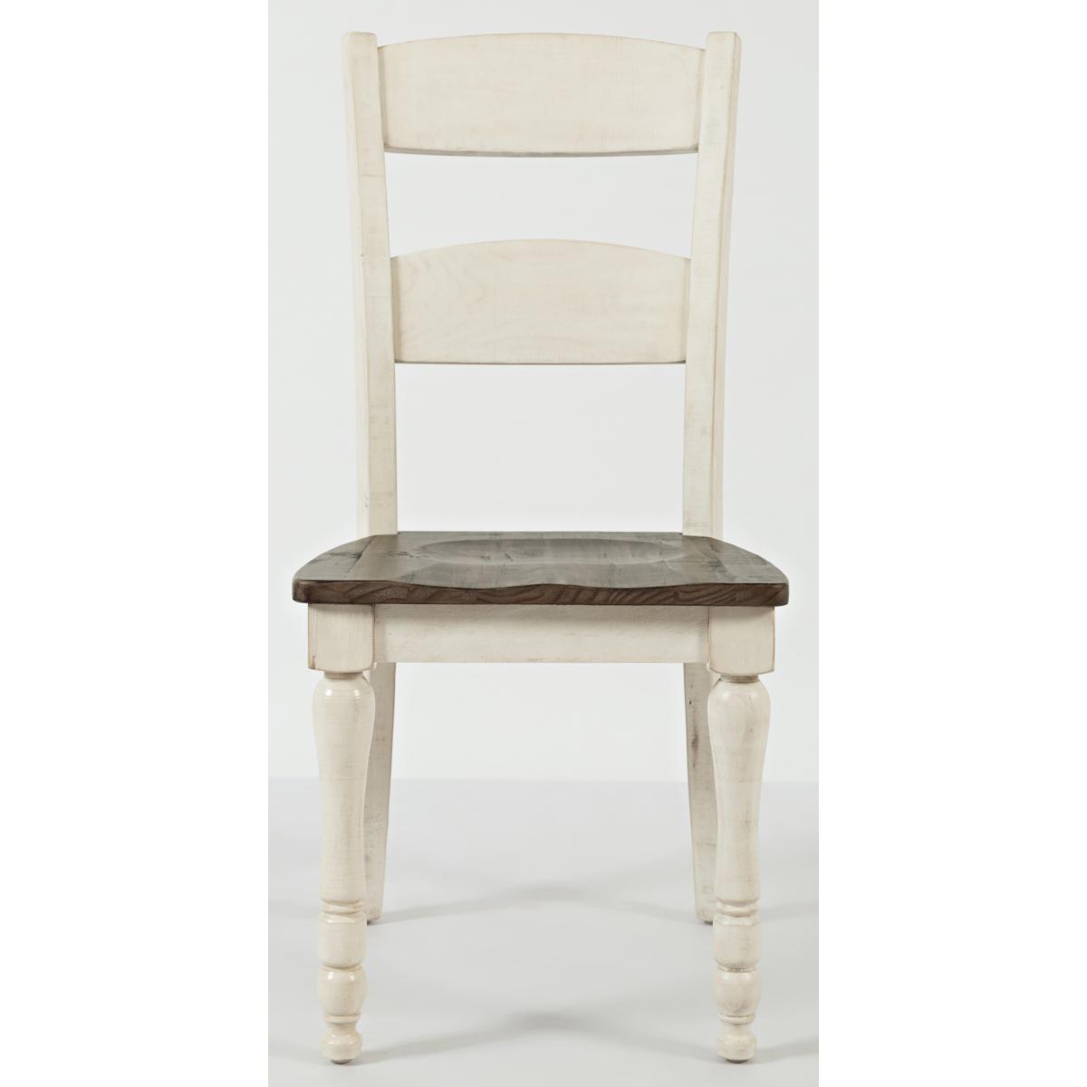 Ginger Ladderback Dining Chair White