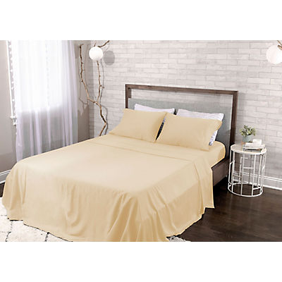 Bedgear Hyper-Cotton Quick Dry Performance Sheet Set - KING - CHAMPAGNE