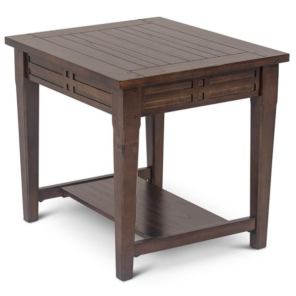Banner End Table