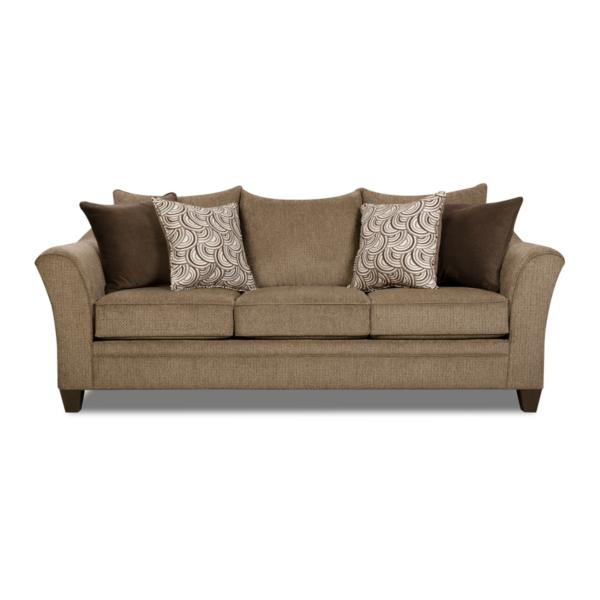 Albany Queen Sleeper Sofa - TRUFFLE
