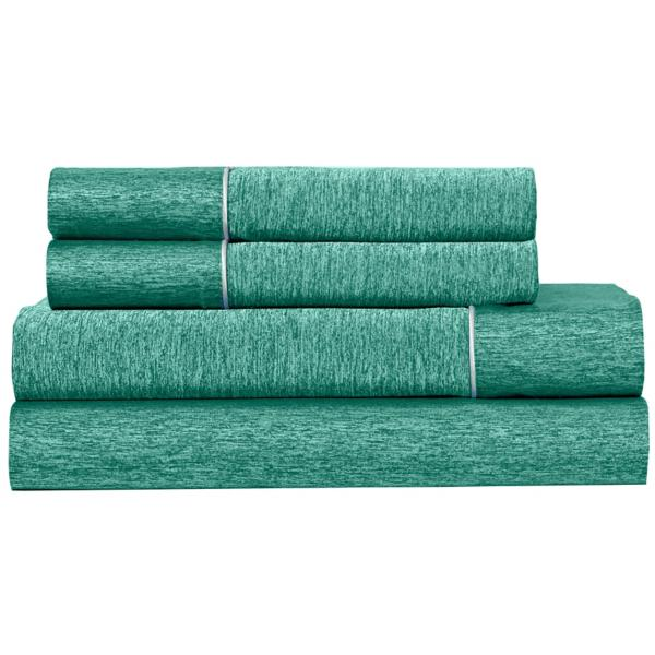Bedgear Ver-Tex Performance Sheet Set - JADE - SPLIT KING