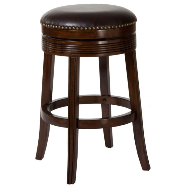 Taylor Brown Cherry Backless Counter Stool